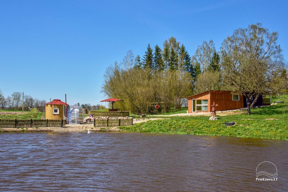 Wieś zagroda Stasiuko sodyba w Trockim rejonie - 59