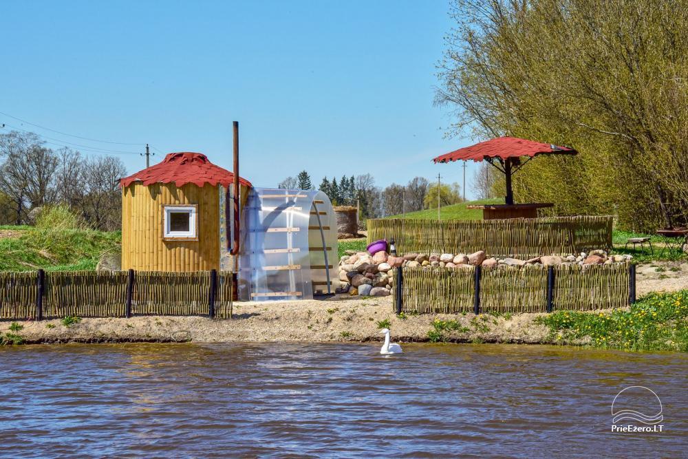 Wieś zagroda Stasiuko sodyba w Trockim rejonie - 60