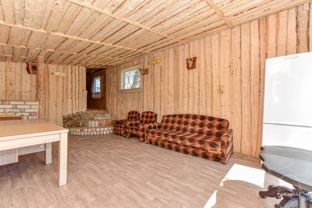 Wieś zagroda Stasiuko sodyba w Trockim rejonie - 67