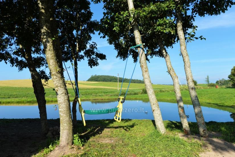 Wieś zagroda Stasiuko sodyba w Trockim rejonie - 57