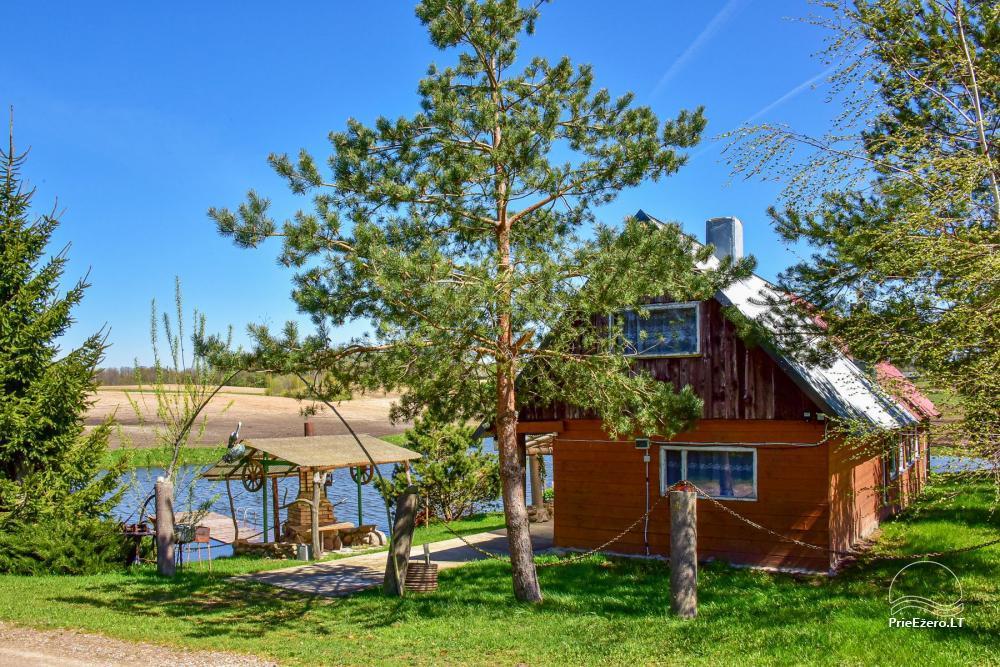 Wieś zagroda Stasiuko sodyba w Trockim rejonie - 22