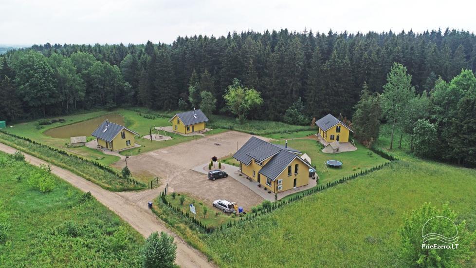 Zagroda 15km od centrum Wilna: wille, hall, sauny, wanny z hydromasażem - 4