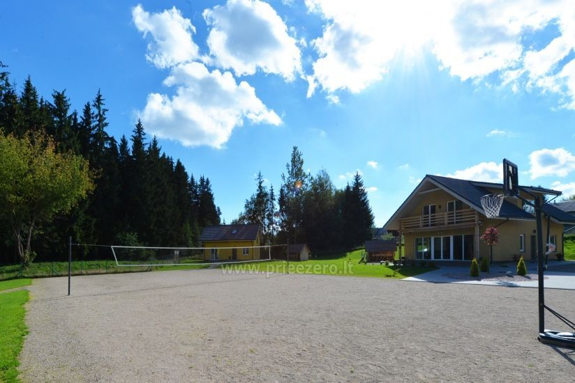 Homestead 15km from Vilnius dosntown: villas, hall, saunas, hot tub - 4