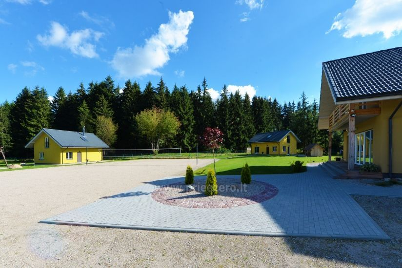 Homestead 15km from Vilnius dosntown: villas, hall, saunas, hot tub - 13