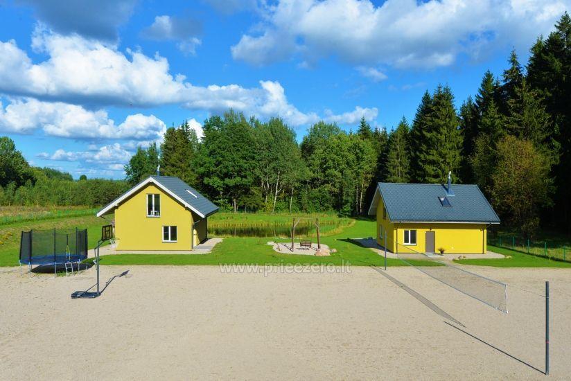Homestead 15km from Vilnius dosntown: villas, hall, saunas, hot tub - 20