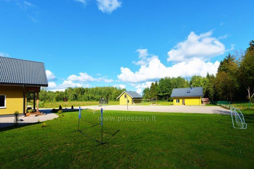 Homestead 15km from Vilnius dosntown: villas, hall, saunas, hot tub - 6