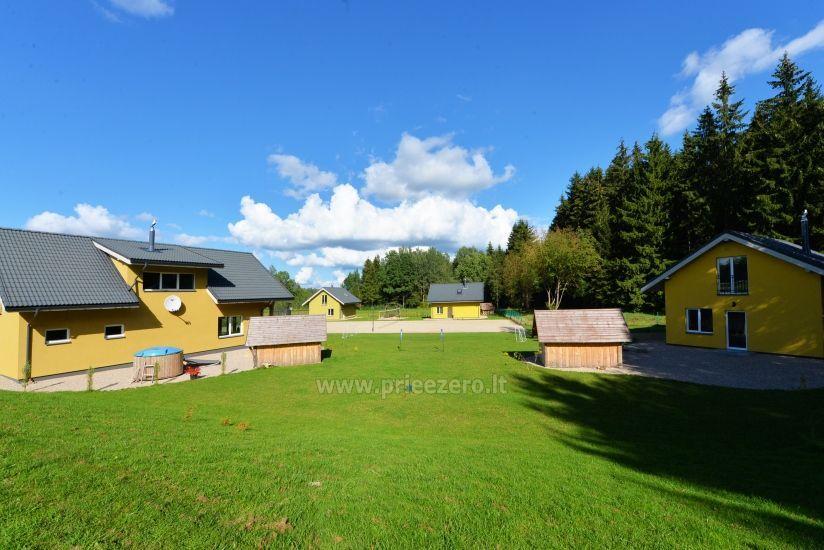 Homestead 15km from Vilnius dosntown: villas, hall, saunas, hot tub - 18