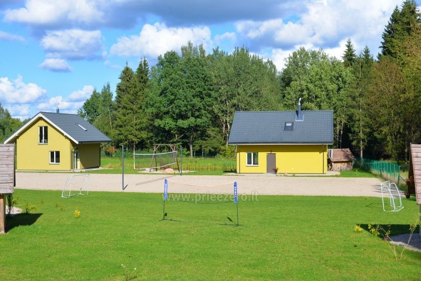 Homestead 15km from Vilnius dosntown: villas, hall, saunas, hot tub - 8