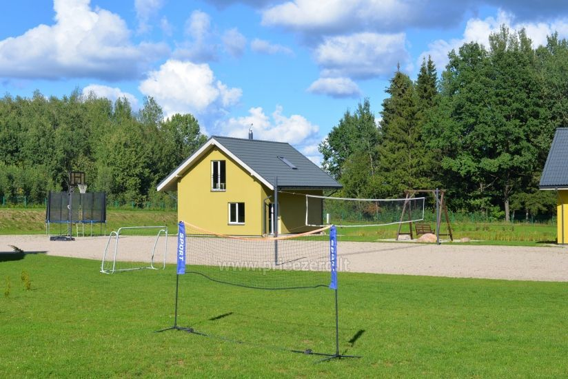 Homestead 15km from Vilnius dosntown: villas, hall, saunas, hot tub - 11
