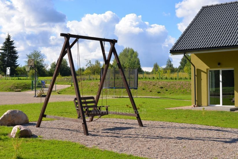 Homestead 15km from Vilnius dosntown: villas, hall, saunas, hot tub - 7