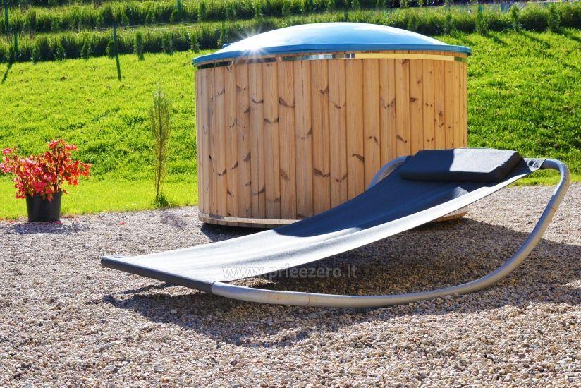 Homestead 15km from Vilnius dosntown: villas, hall, saunas, hot tub - 12