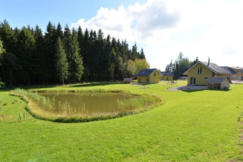 Homestead 15km from Vilnius dosntown: villas, hall, saunas, hot tub - 16