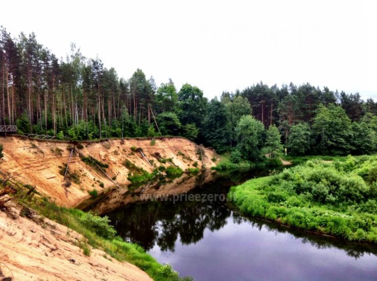 Кемпинг и каяках возле реки Швянтойи - 2