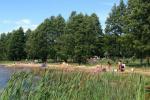 Кемпинг на берегу озера Usma в Латвии - 4