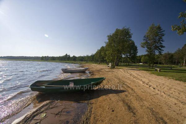 Кемпинг на берегу озера Usma в Латвии - 9