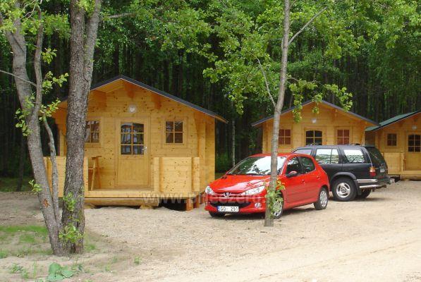 Кемпинг на берегу озера Usma в Латвии - 8