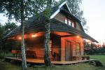 Holiday cottages for rent not far from Sventoji (sauna, horses)