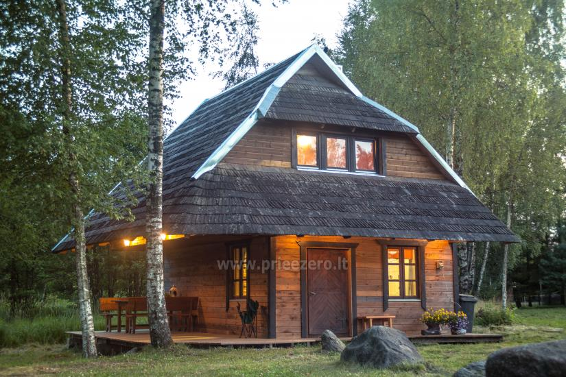 Little holiday houses for rent not far from Sventoji (sauna, horses) - 3