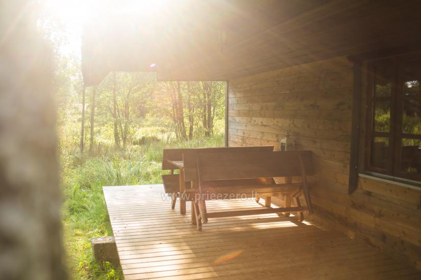Holiday cottages for rent not far from Sventoji (sauna, horses) - 16