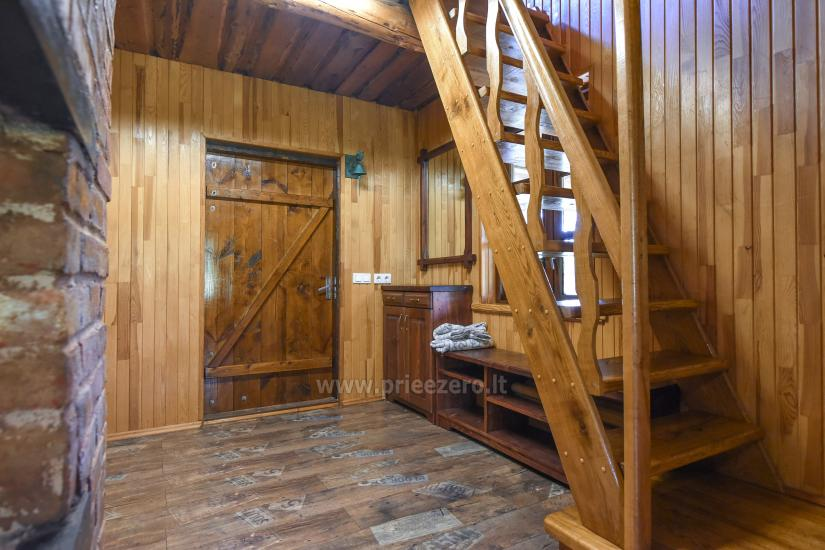 Holiday cottages for rent not far from Sventoji (sauna, horses) - 15