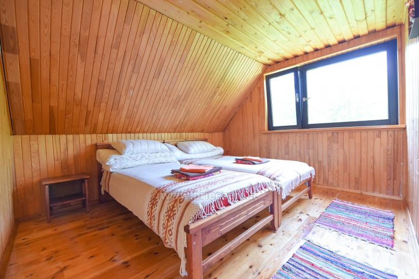 Little holiday houses for rent not far from Sventoji (sauna, horses) - 6