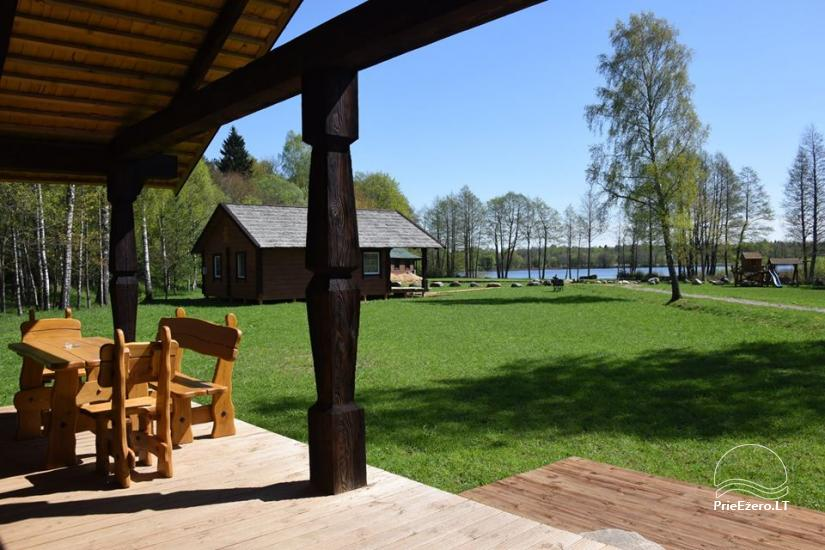Holiday cottages for rent not far from Sventoji (sauna, horses) - 17