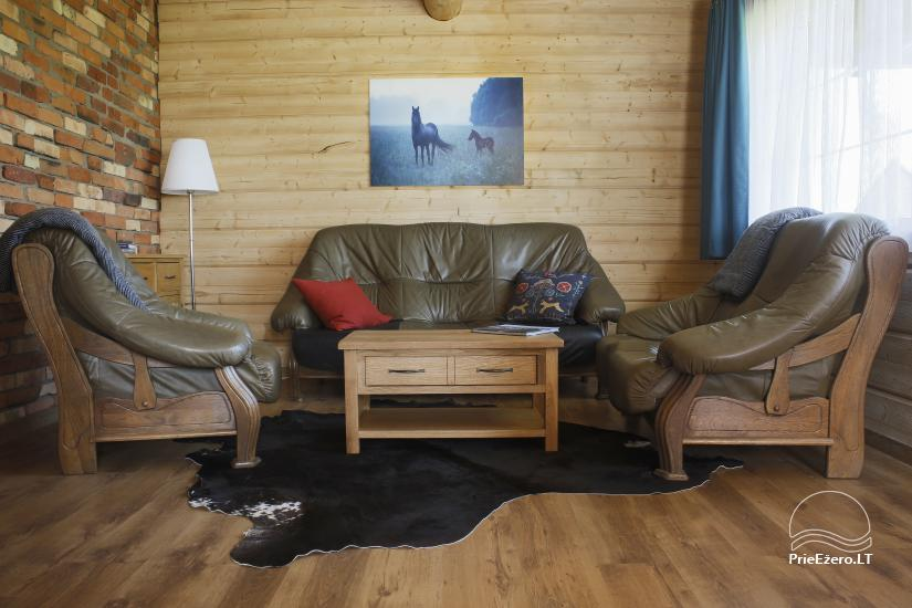 Little holiday houses for rent not far from Sventoji (sauna, horses) - 4