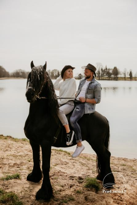 Holiday cottages for rent not far from Sventoji (sauna, horses) - 2