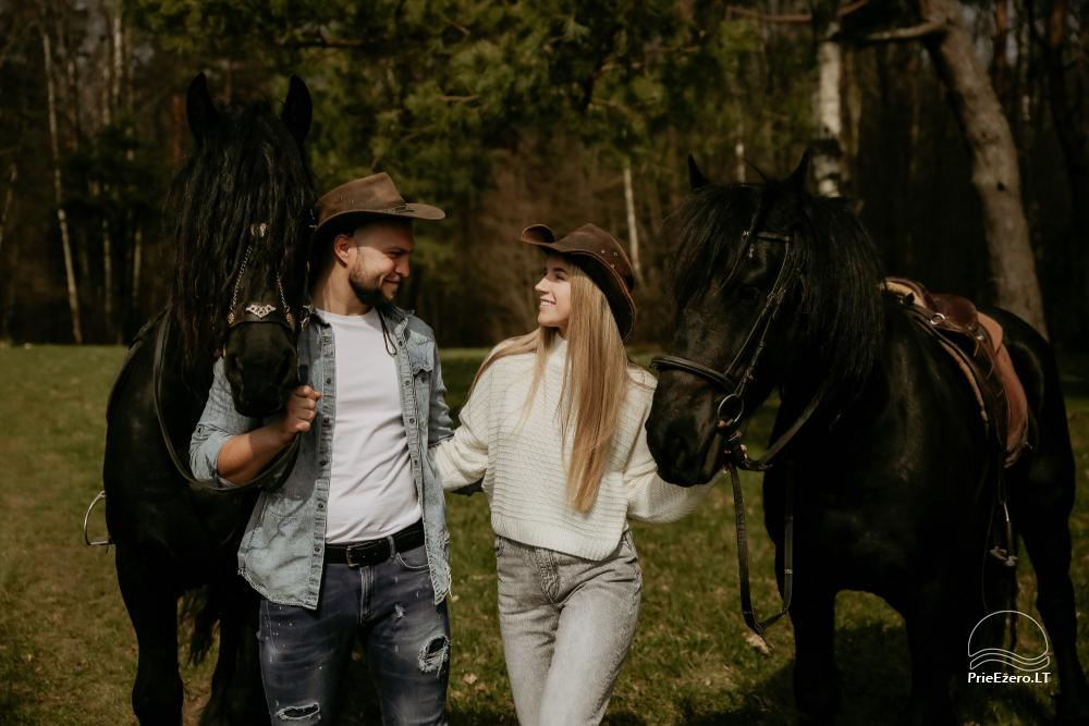 Holiday cottages for rent not far from Sventoji (sauna, horses) - 1