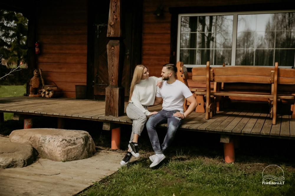 Holiday cottages for rent not far from Sventoji (sauna, horses) - 3