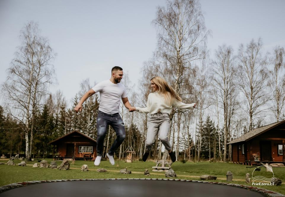 Holiday cottages for rent not far from Sventoji (sauna, horses) - 30