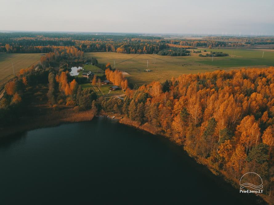 Holiday cottages for rent not far from Sventoji (sauna, horses) - 33