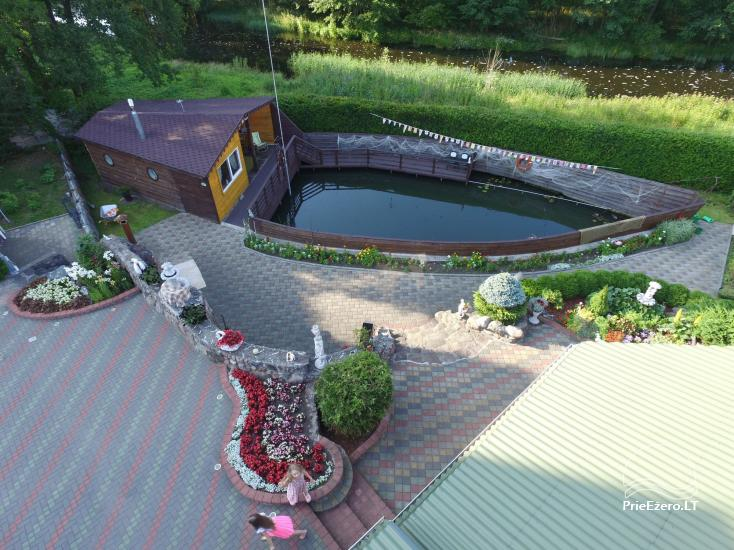 Holiday cottage for rent near the river Ratnycele in Lithuania - 1