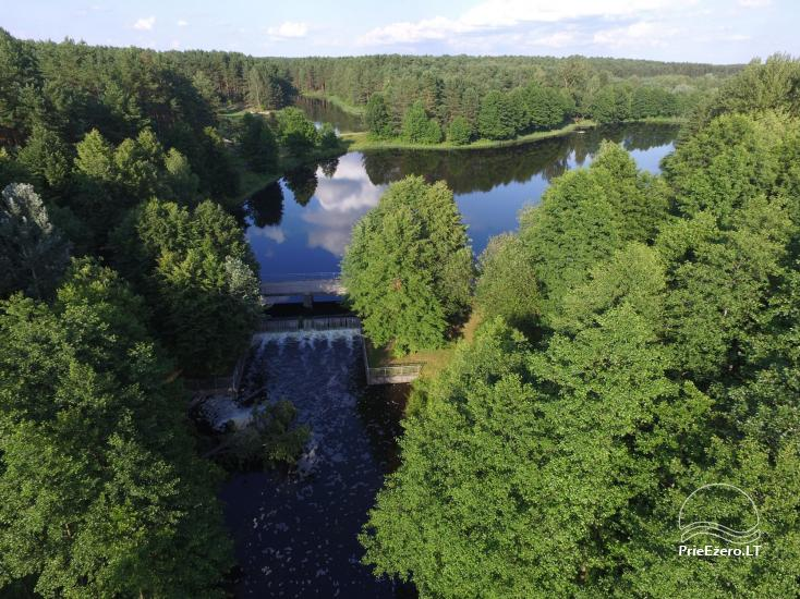 Holiday cottage for rent near the river Ratnycele in Lithuania - 4