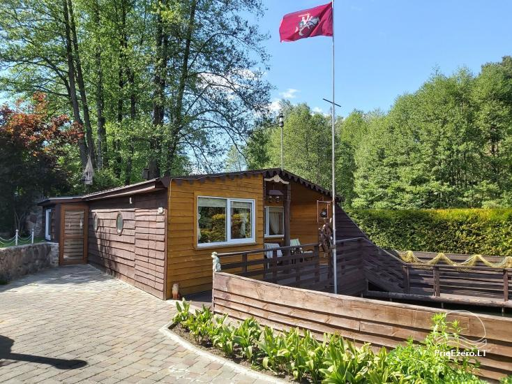 Holiday cottage for rent near the river Ratnycele in Lithuania - 6