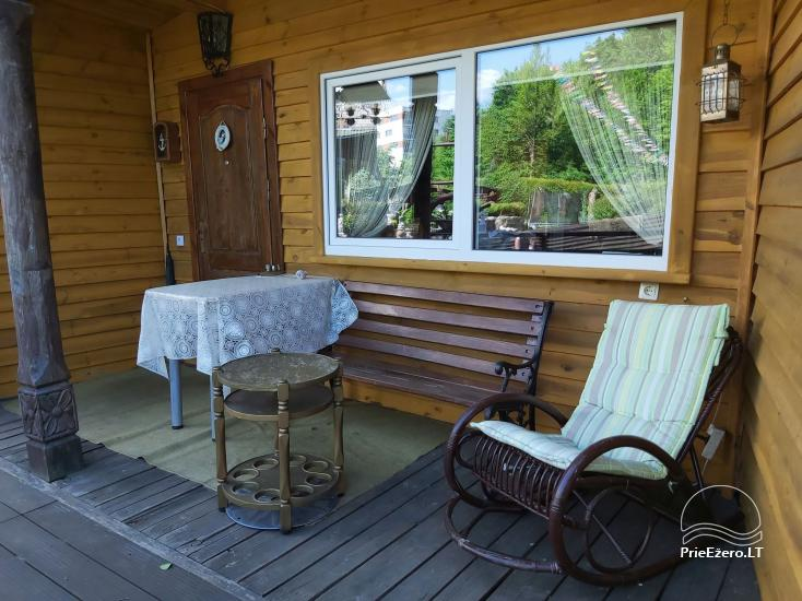Holiday cottage for rent near the river Ratnycele in Lithuania - 12