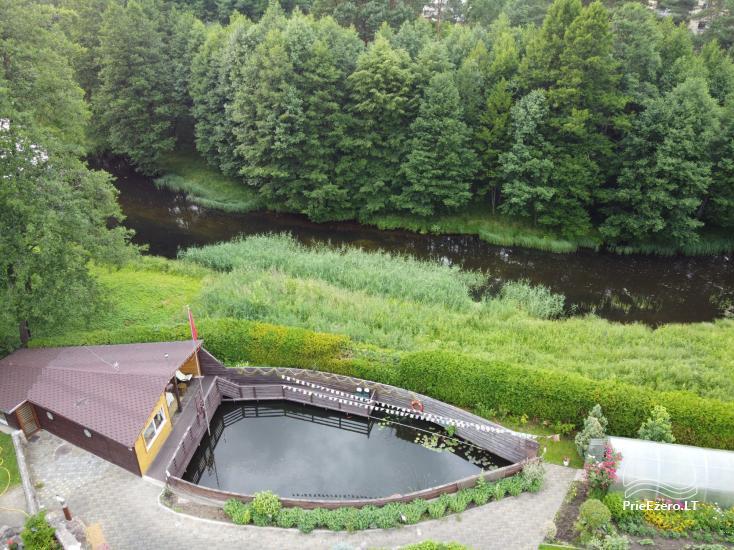 Domek do wynajęcia w Druskiennikach w pobliżu rzeki Ratnyčėlė - 2