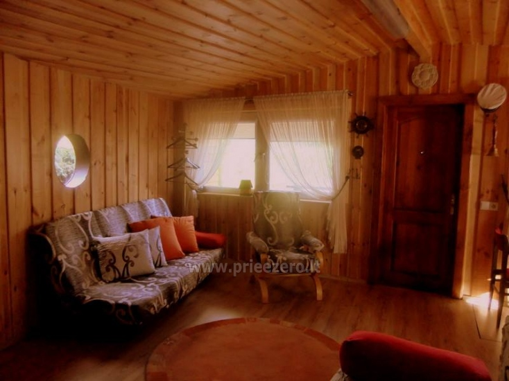 Little holiday houses for rent near the river Ratnycele in Lithuania - 6