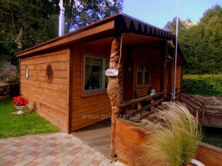 Little holiday houses for rent near the river Ratnycele in Lithuania - 1