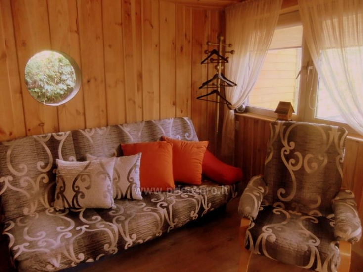 Little holiday houses for rent near the river Ratnycele in Lithuania - 4