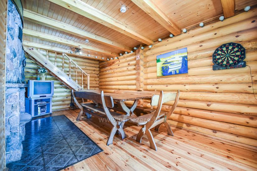 Homestead Vilnoja with a sauna, hot tub, Jacuzzi - 35