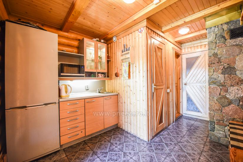 Homestead Vilnoja with a sauna, hot tub, Jacuzzi - 36