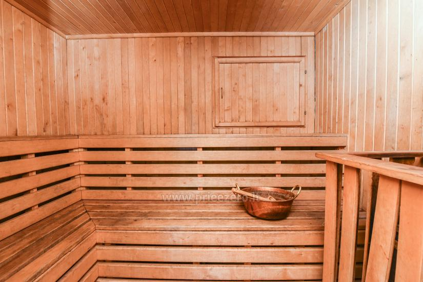 Homestead Vilnoja with a sauna, hot tub, Jacuzzi - 37