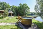 Homestead Vilnoja with a sauna, hot tub, Jacuzzi - 10