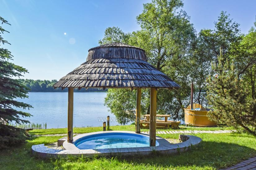 Homestead Vilnoja with a sauna, hot tub, Jacuzzi - 25