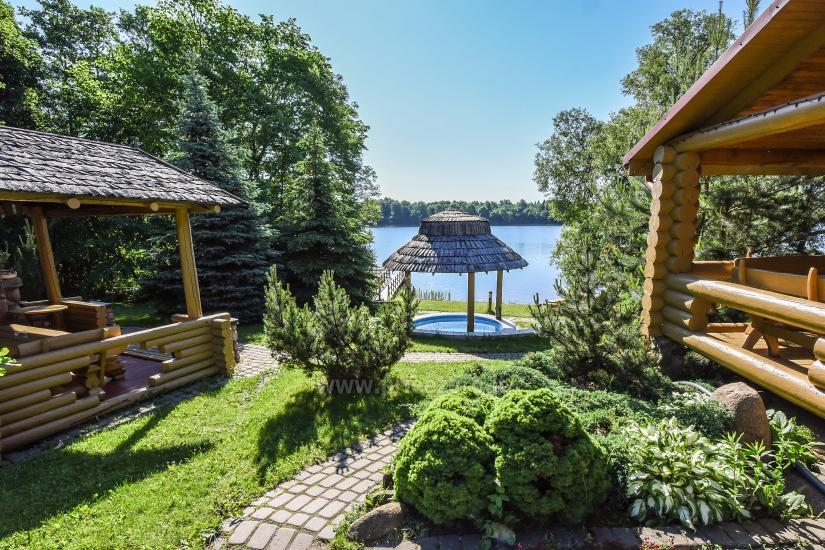 Homestead Vilnoja with a sauna, hot tub, Jacuzzi - 11