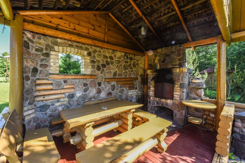 Homestead Vilnoja with a sauna, hot tub, Jacuzzi - 32