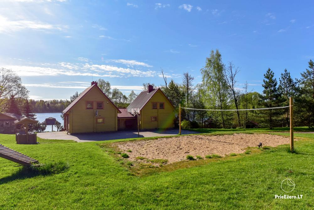 Homestead Vilnoja with a sauna, hot tub, Jacuzzi - 12