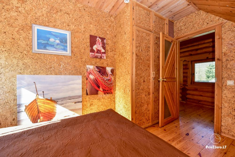 Homestead Vilnoja with a sauna, hot tub, Jacuzzi - 3
