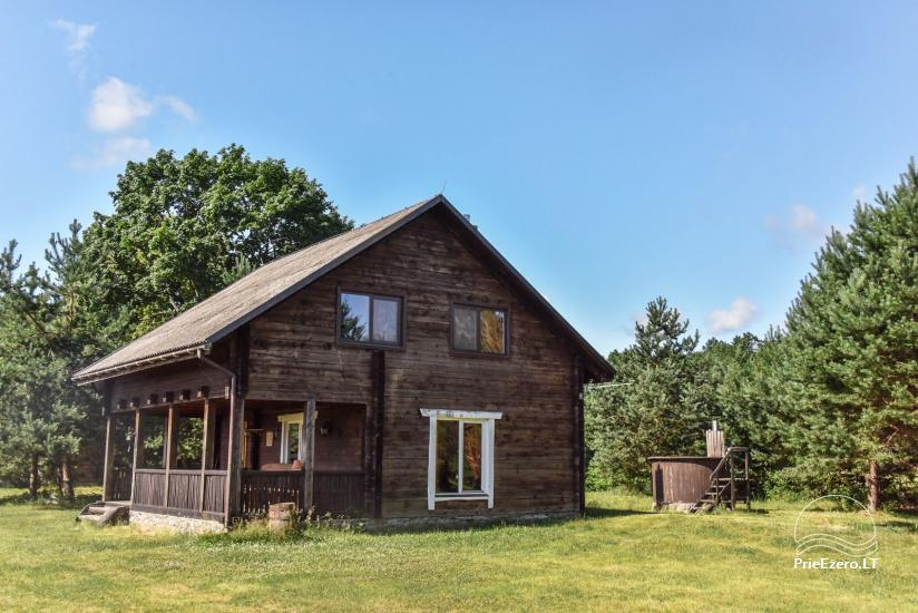 Homestead on the shore of the lake Sartai in Zarasai district Lapėnų Sodyba – holiday cottages - 23